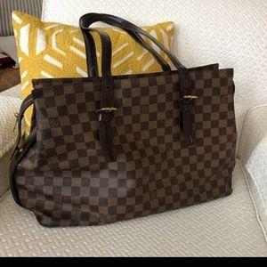Louis Vuitton damnier chelsea tote